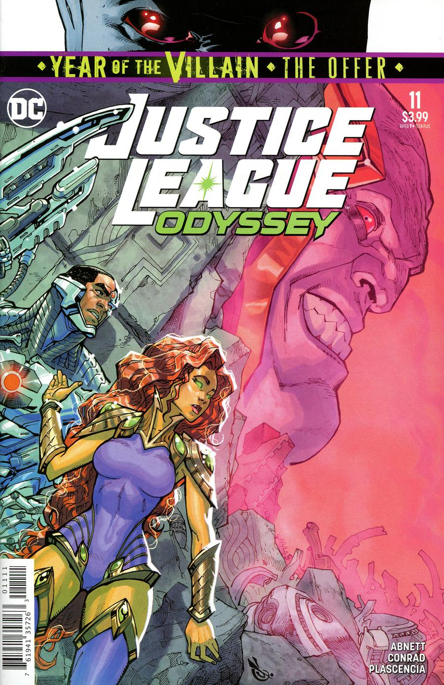 Justice League Odyssey #11 Cover A Regular Carlos DAnda Cover (Year Of The Villain The Offer Tie-In)