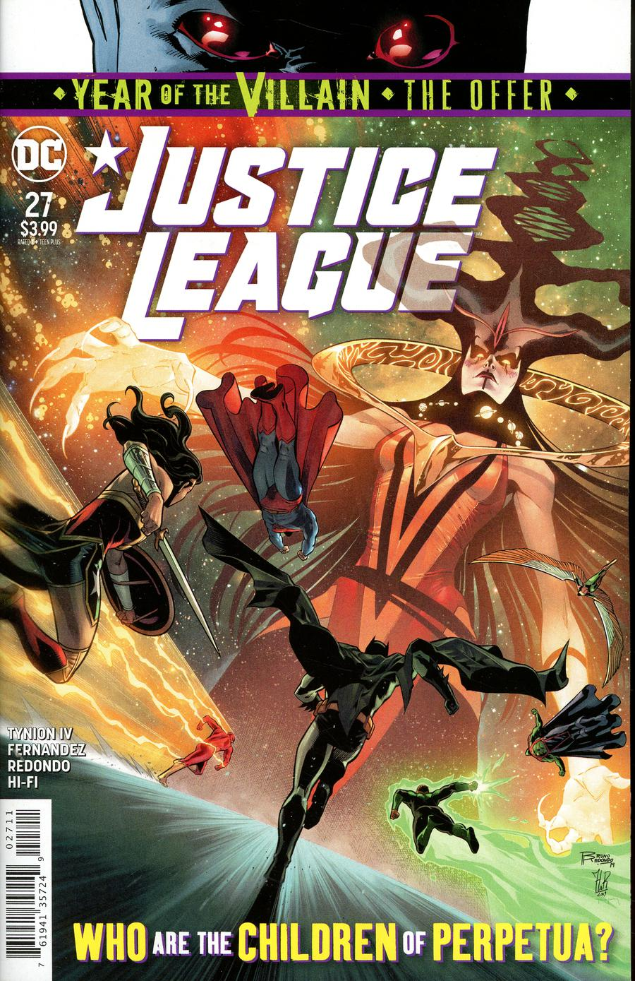 Justice League Vol 4 #27 Cover A Regular Bruno Redondo Cover (Year Of The Villain The Offer Tie-In)