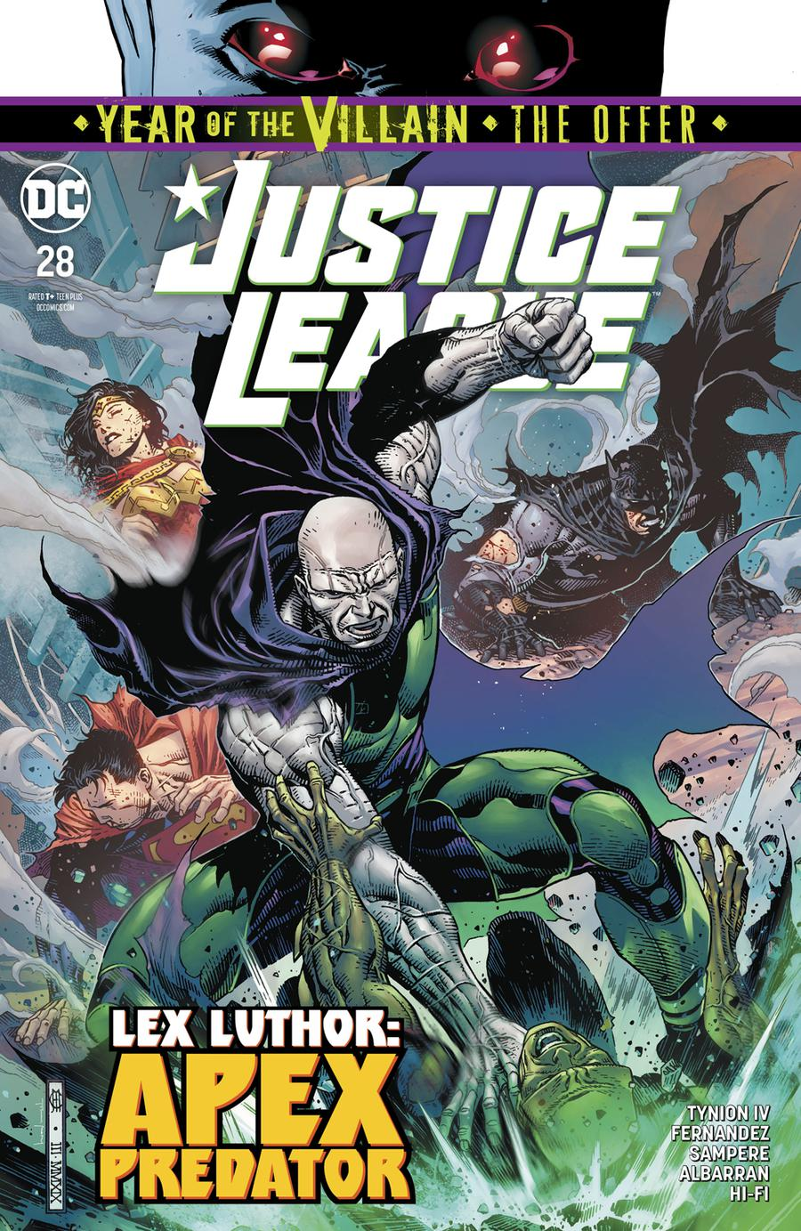 Justice League Vol 4 #28 Cover A Regular Jim Cheung Cover