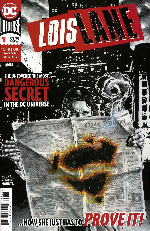 Lois Lane Vol 2 #1 Cover A Regular Mike Perkins Cover