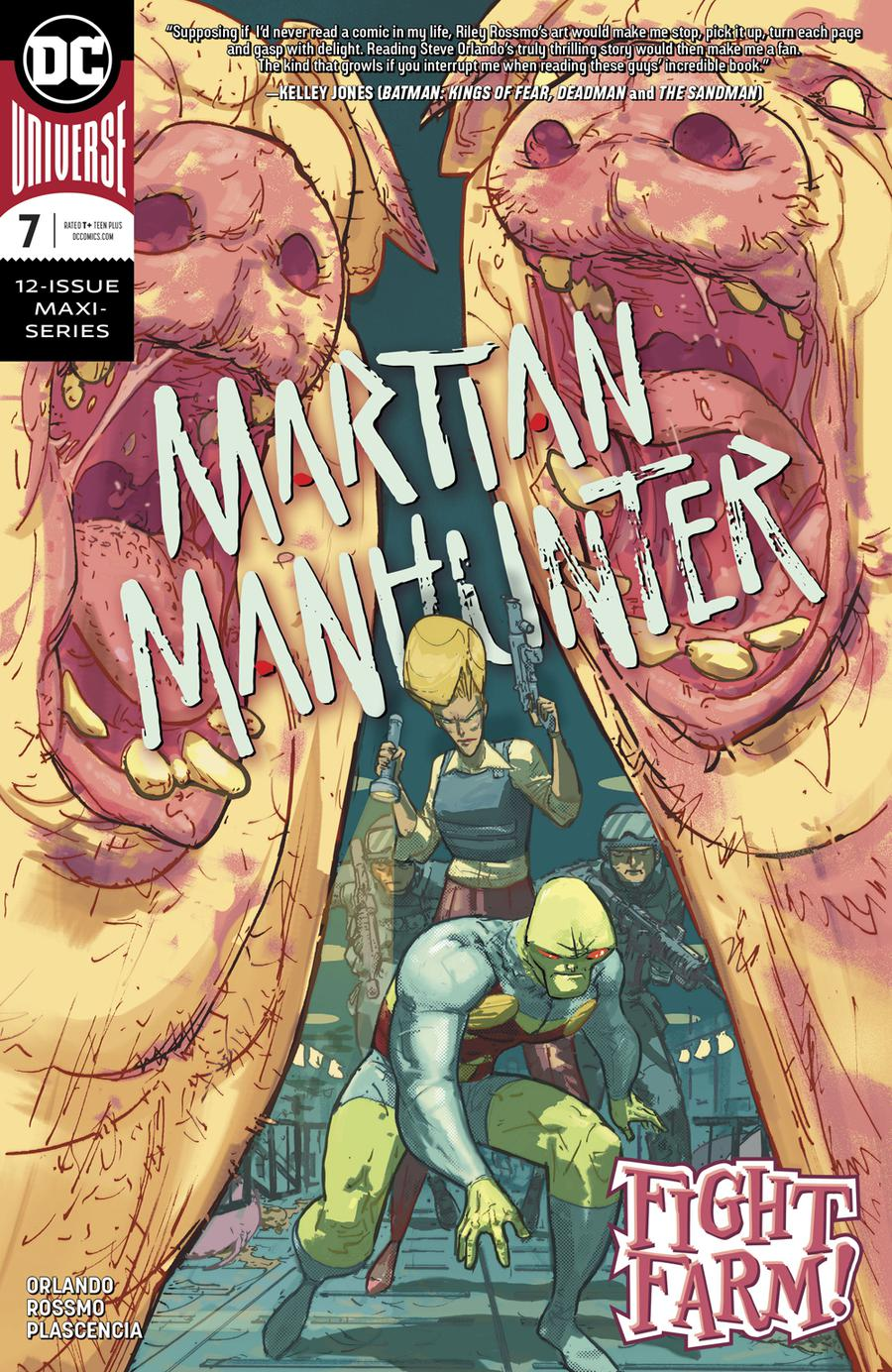 Martian Manhunter Vol 5 #7 Cover A Regular Riley Rossmo Cover