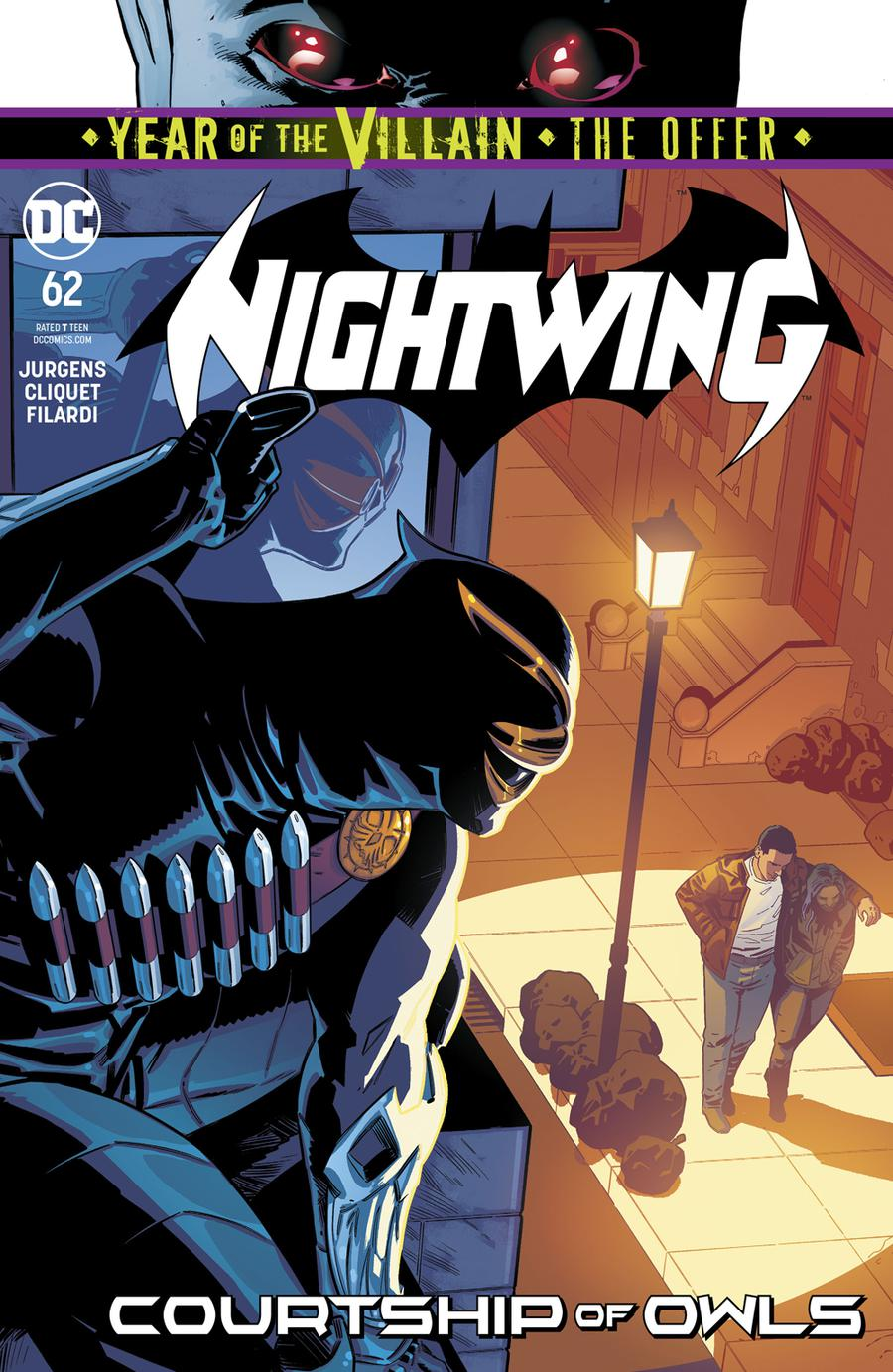Nightwing Vol 4 #62 Cover A Regular Bruno Redondo Cover (Year Of The Villain The Offer Tie-In)