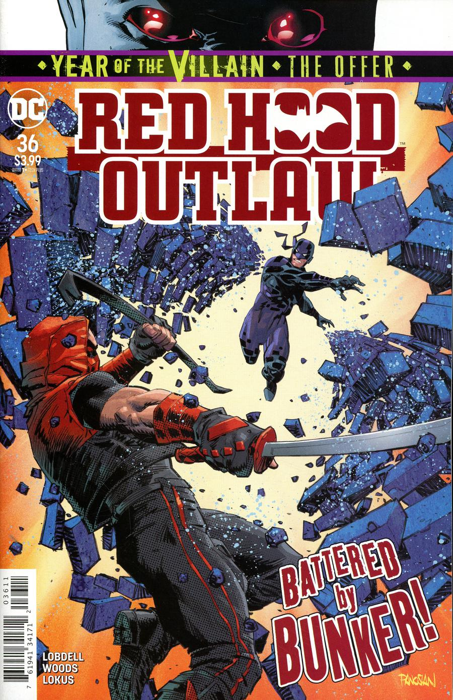 Red Hood Outlaw #36 Cover A Regular Dan Panosian Cover (Year Of The Villain The Offer Tie-In)