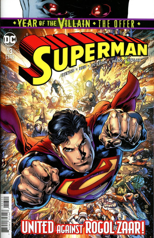 Superman Vol 6 #13 Cover A Regular Ivan Reis & Joe Prado Cover (Year Of The Villain The Offer Tie-In)