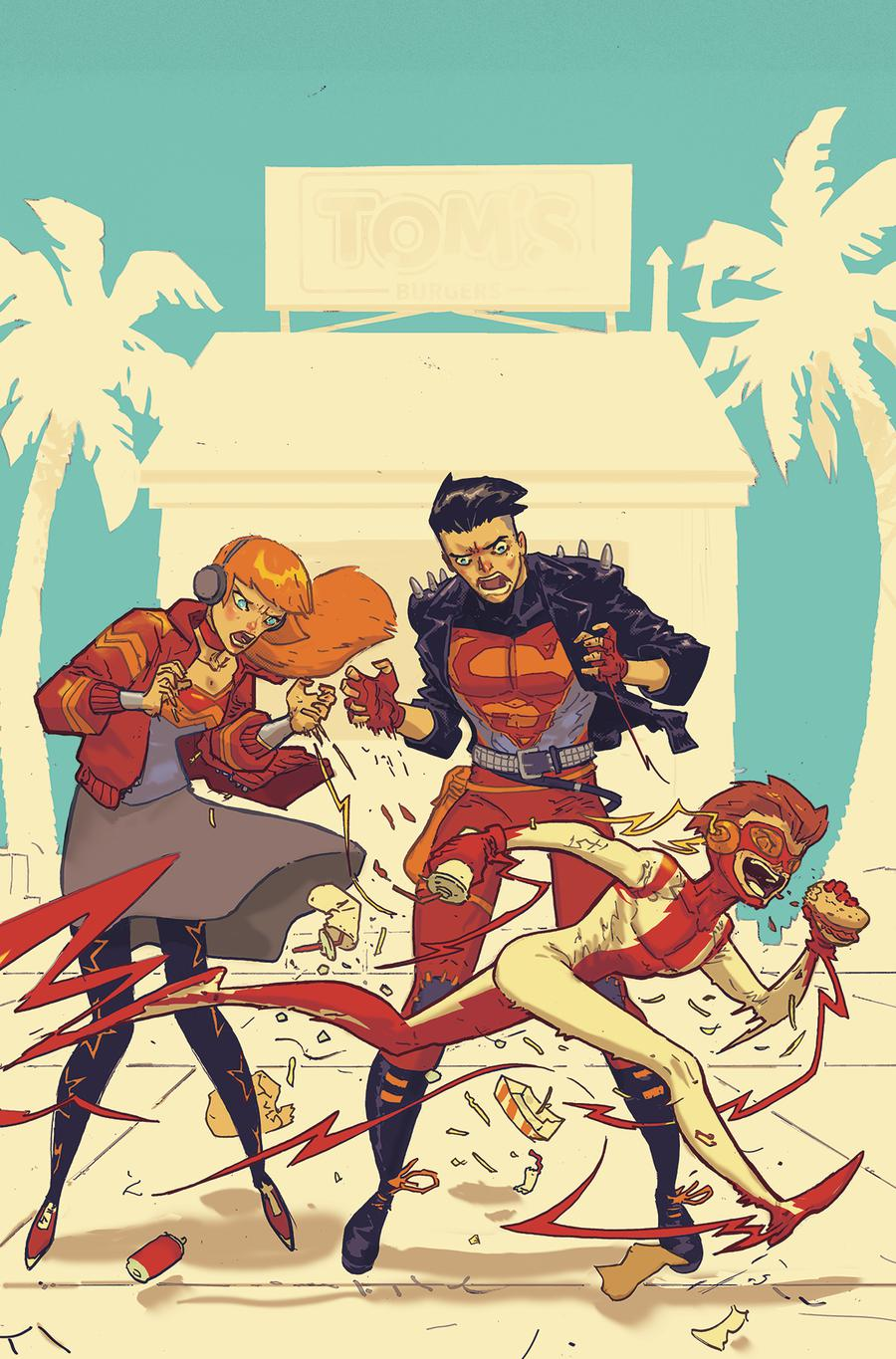 Young Justice Vol 3 #7 Cover B Variant Riley Rossmo Cover