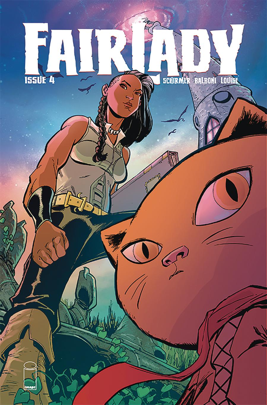 Fairlady #4 Cover B Variant Justin Greenwood & Brad Simpson Cover