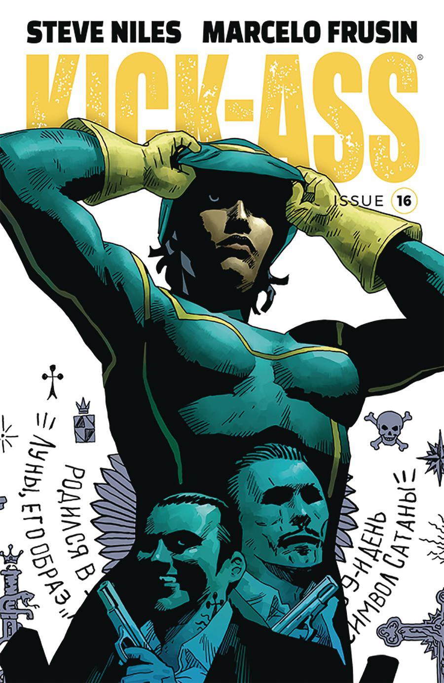 Kick-Ass Vol 4 #16 Cover A Regular Marcelo Frusin Color Cover