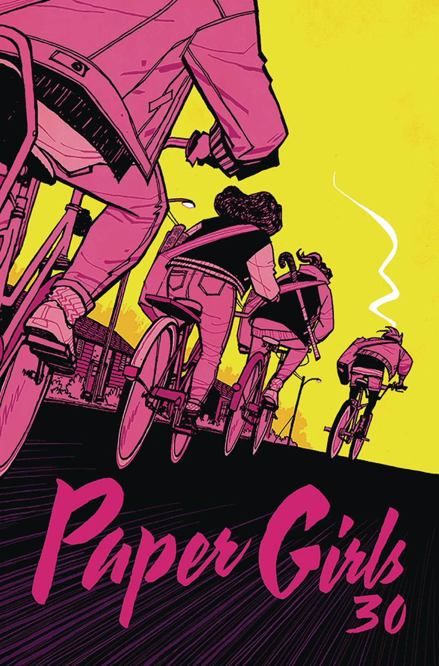Paper Girls #30 Cover A Regular Cliff Chiang Cover