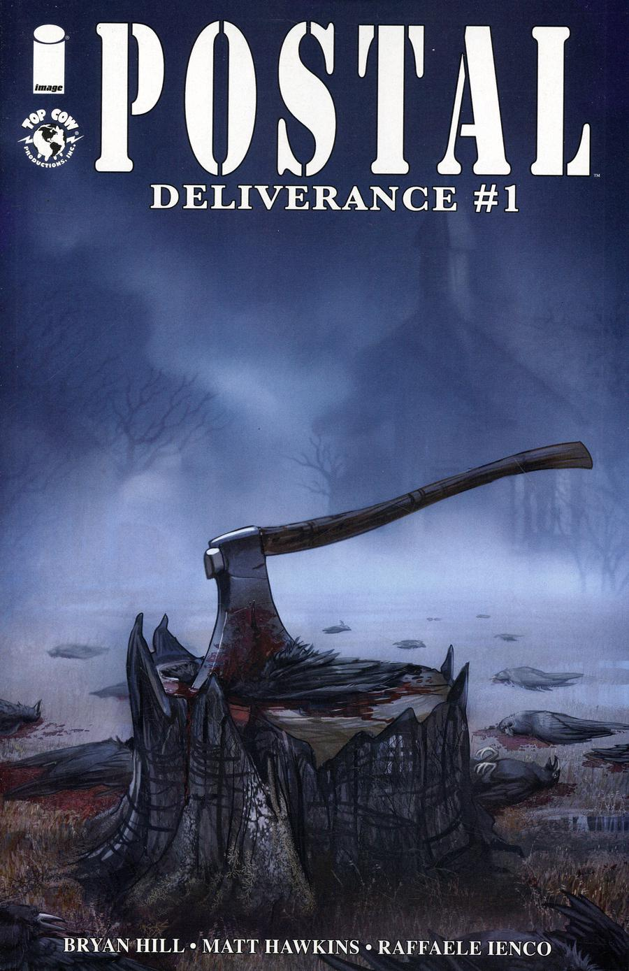 Postal Deliverance #1 Cover A Regular Linda Sejic Cover