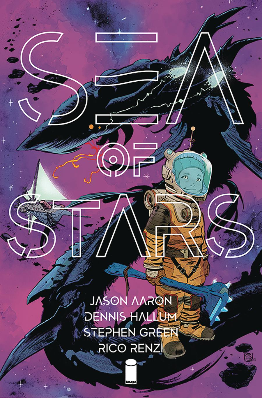 Sea Of Stars #1 Cover A 1st Ptg Regular Stephen Green Cover