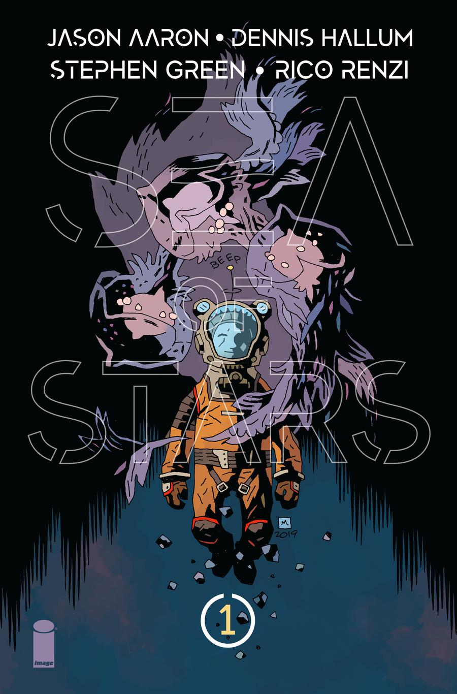 Sea Of Stars #1 Cover B Variant Mike Mignola Cover
