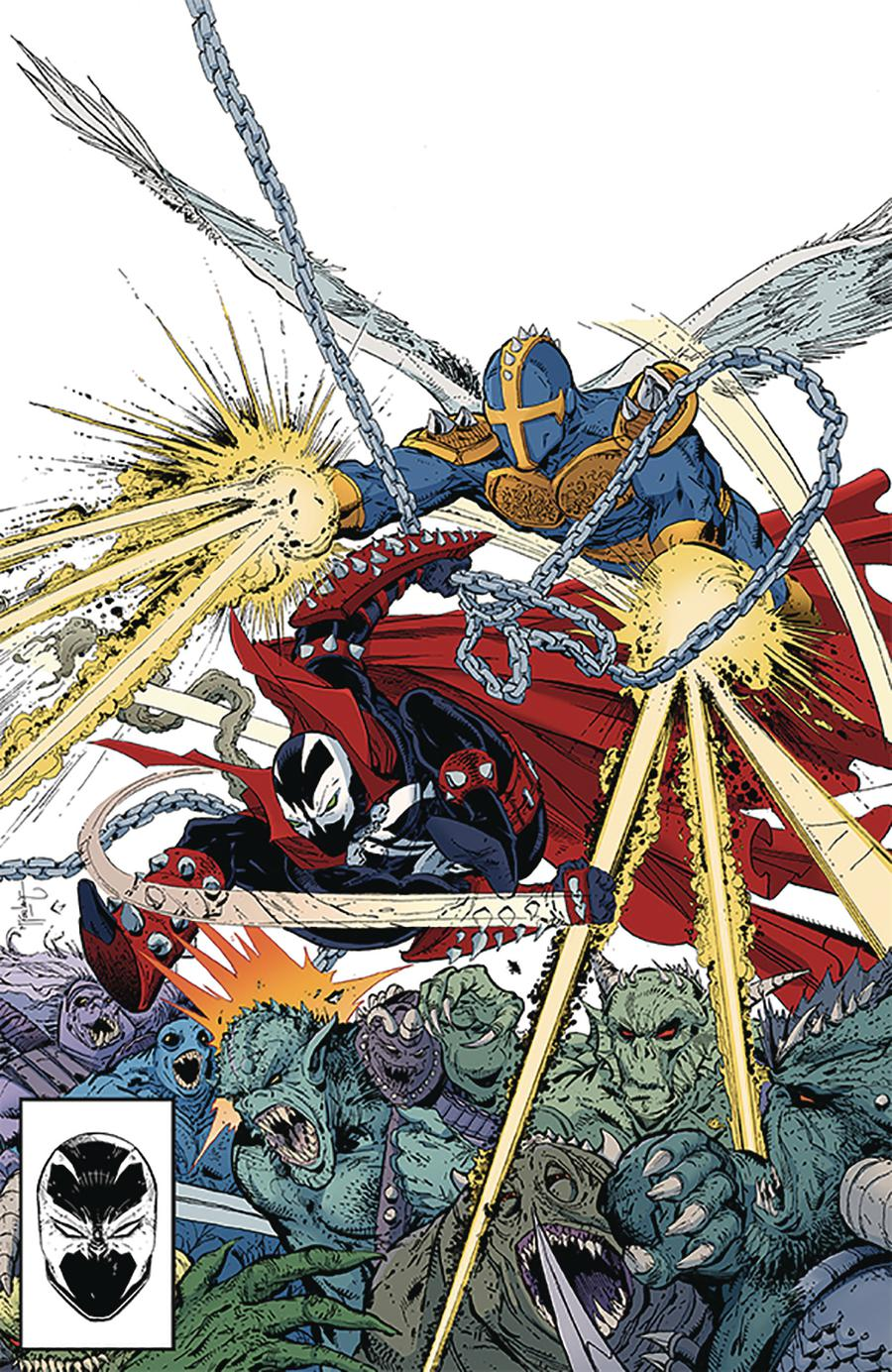 Spawn #299 Cover B Variant Todd McFarlane Color Virgin Cover
