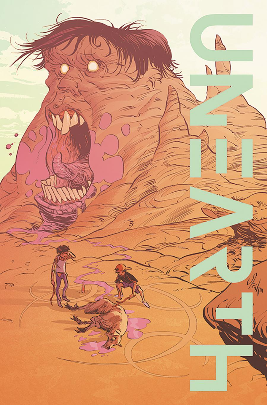 Unearth #1 Cover B Variant Kyle Strahm Cover