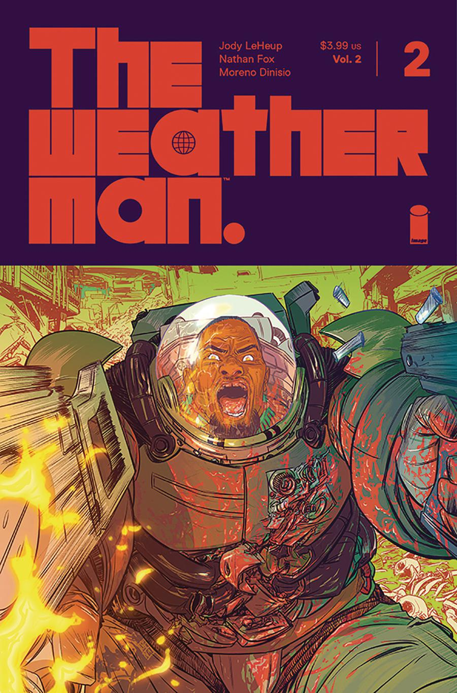 Weatherman Vol 2 #2 Cover A Regular Nathan Fox Cover