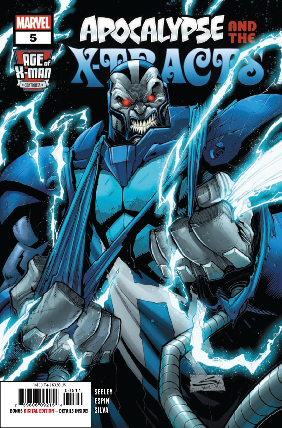Age Of X-Man Apocalypse And The X-Tracts #5
