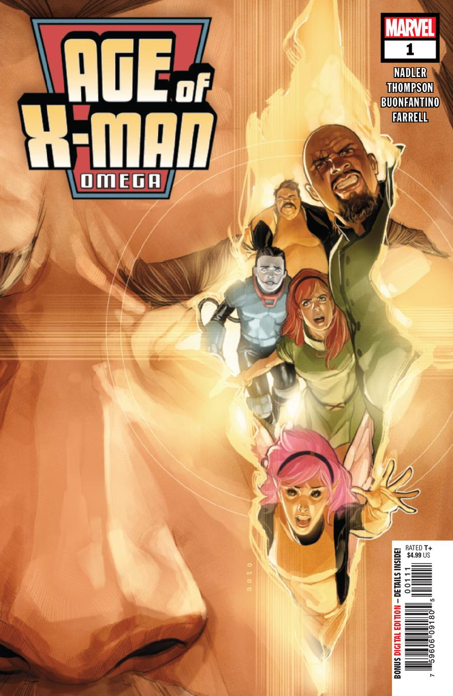 Age Of X-Man Omega #1 Cover A Regular Phil Noto Cover