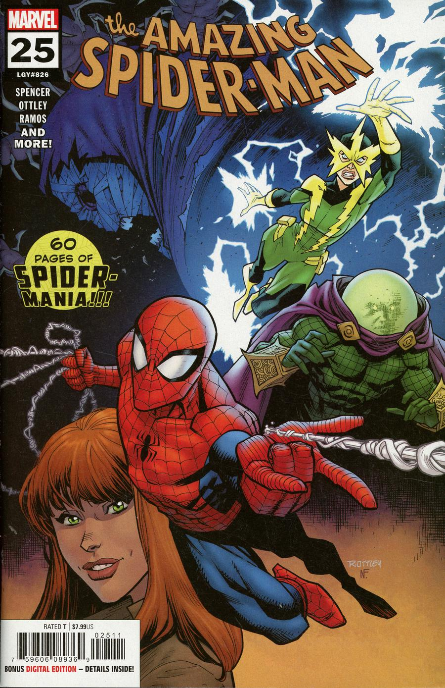 Amazing Spider-Man Vol 5 #25 Cover A 1st Ptg Regular Ryan Ottley Cover