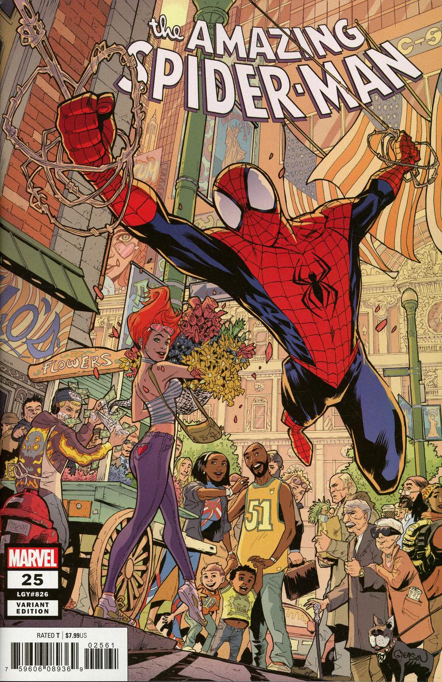 Amazing Spider-Man Vol 5 #25 Cover B Variant Patrick Gleason Cover
