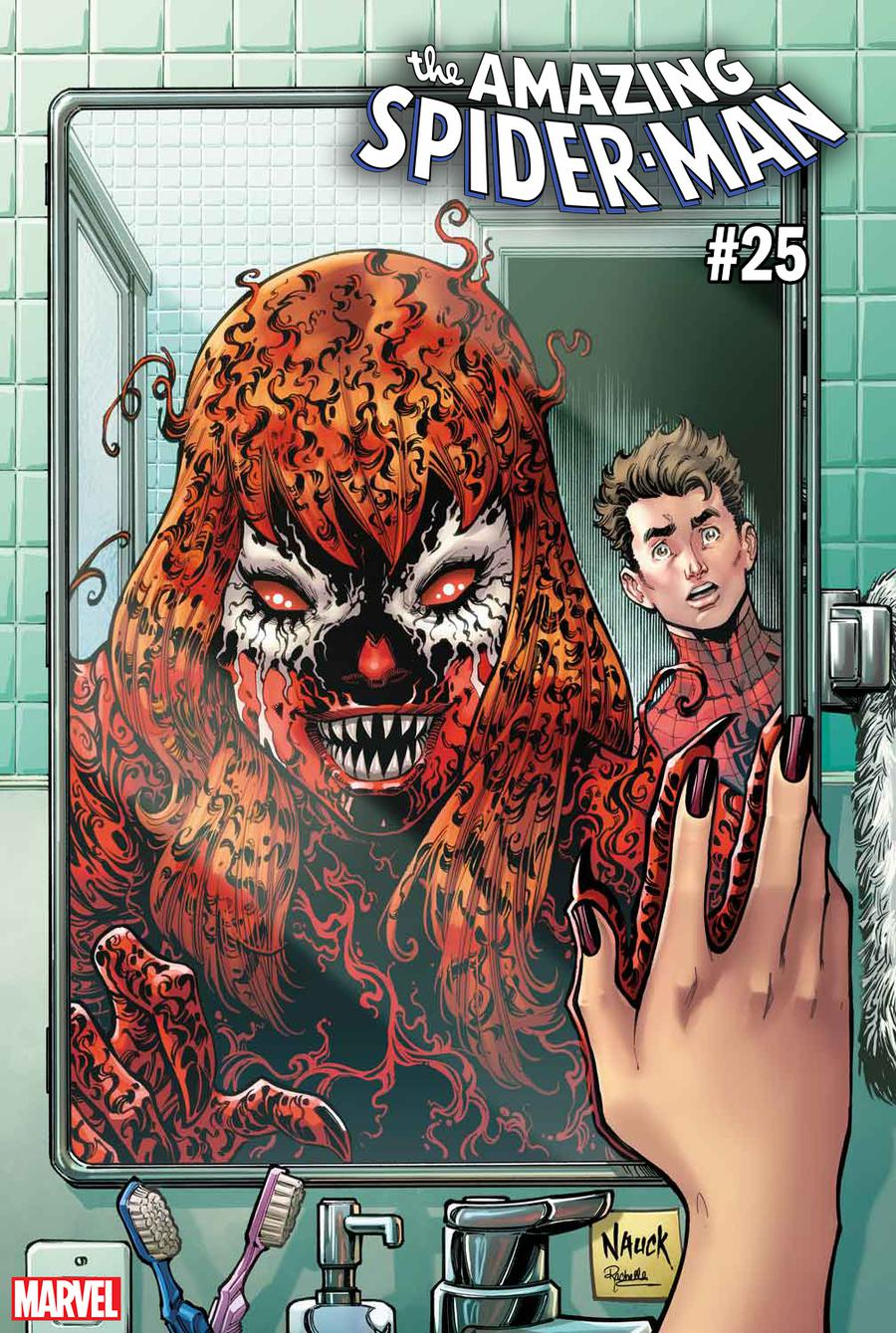 Amazing Spider-Man Vol 5 #25 Cover C Variant Todd Nauck Carnage-Ized Cover