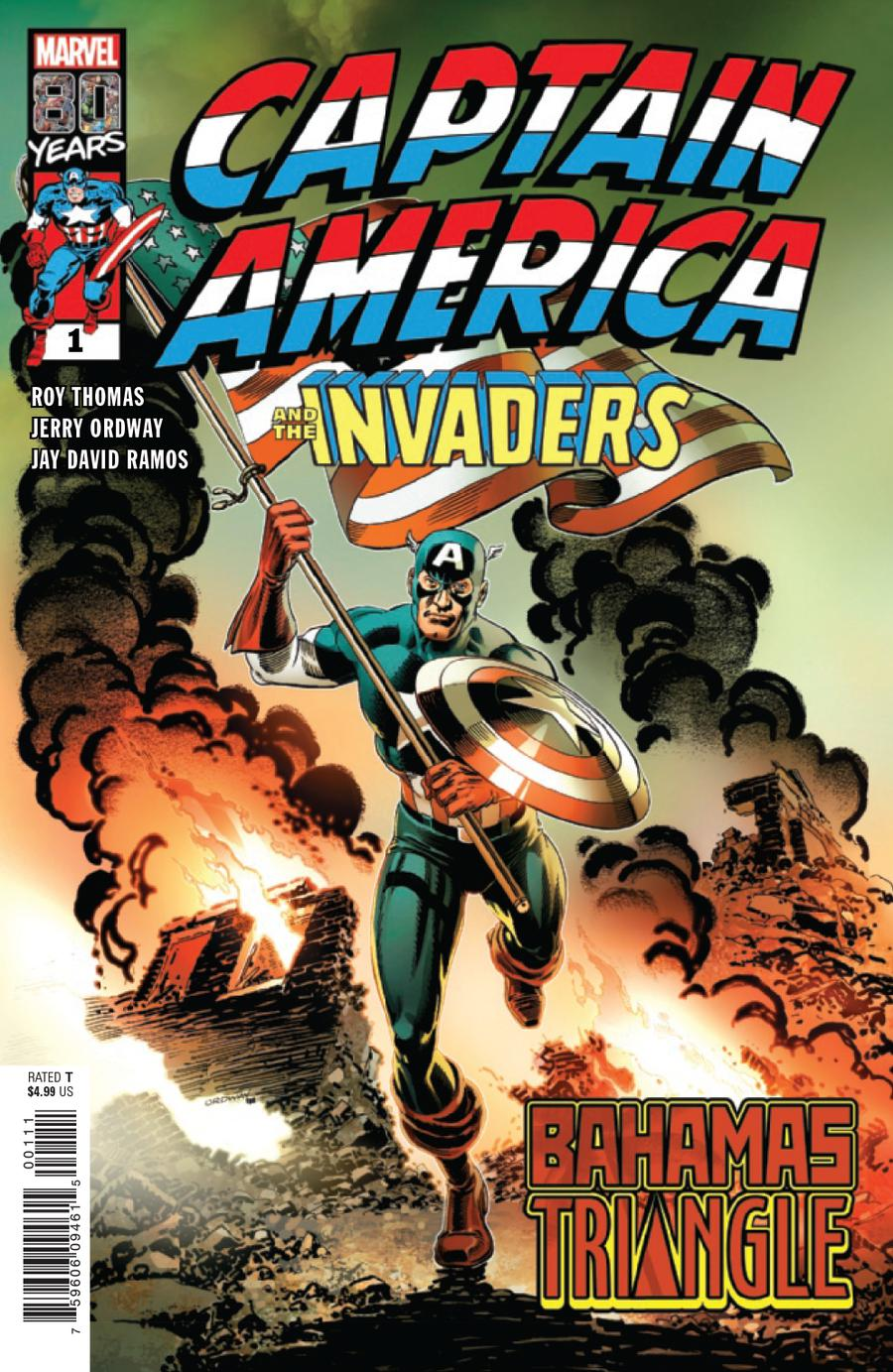 Captain America And The Invaders Bahamas Triangle #1 Cover A Regular Jerry Ordway Cover