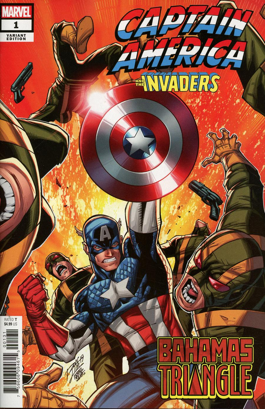 Captain America And The Invaders Bahamas Triangle #1 Cover B Variant Ron Lim Cover