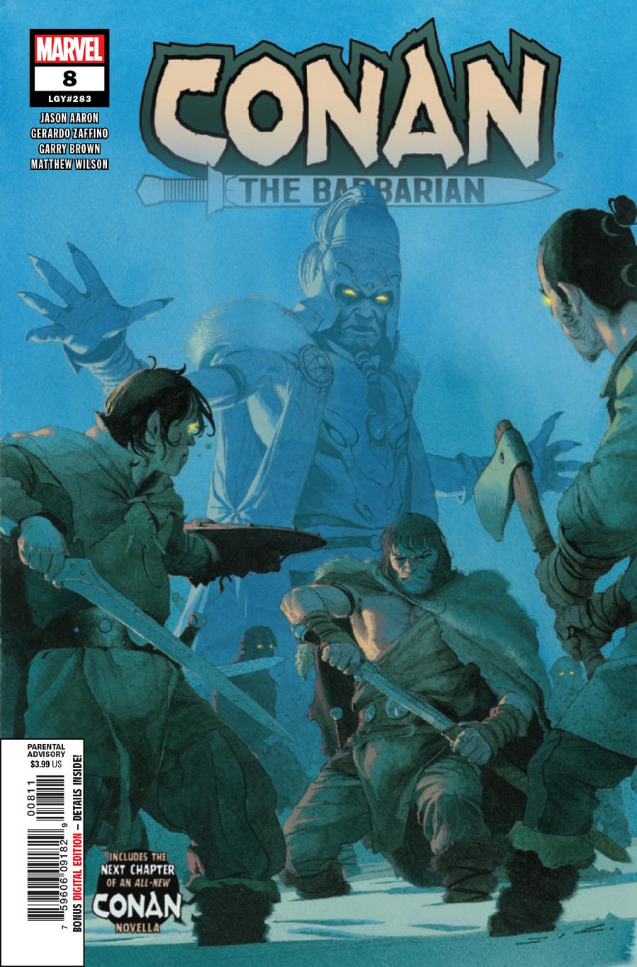 Conan The Barbarian Vol 4 #8 Cover A Regular Esad Ribic Cover
