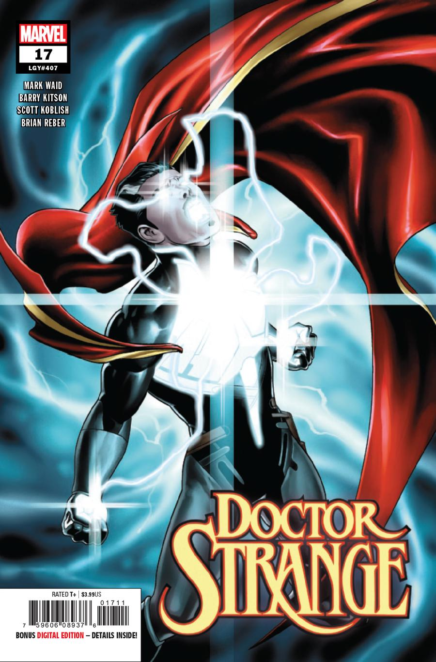 Doctor Strange Vol 5 #17 Cover A Regular Jesus Saiz Cover