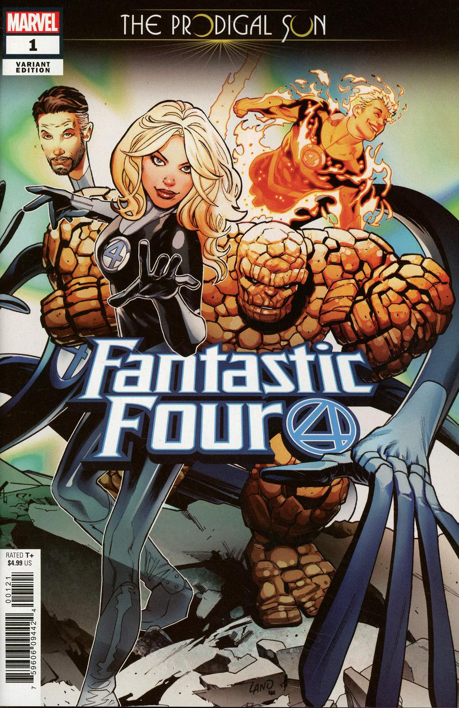Fantastic Four Prodigal Sun #1 Cover B Variant Greg Land Cover