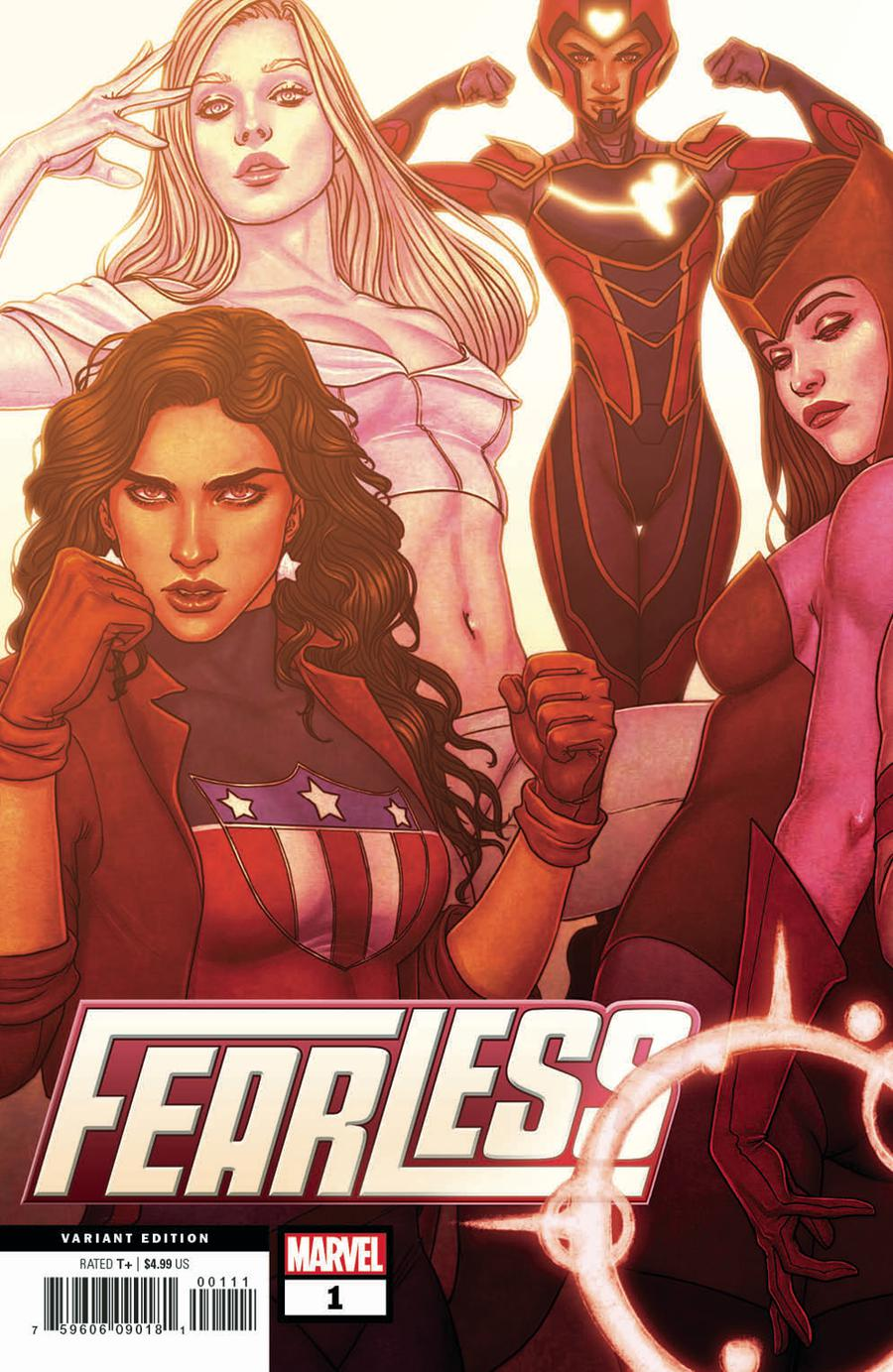 Fearless #1 Cover B Variant Jenny Frison Connecting Cover