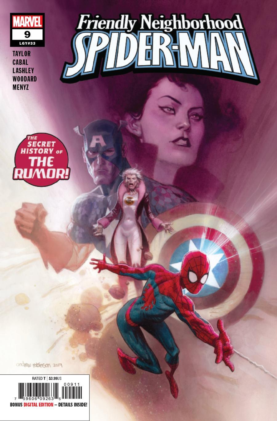 Friendly Neighborhood Spider-Man Vol 2 #9 Cover A Regular Andrew C Robinson Cover
