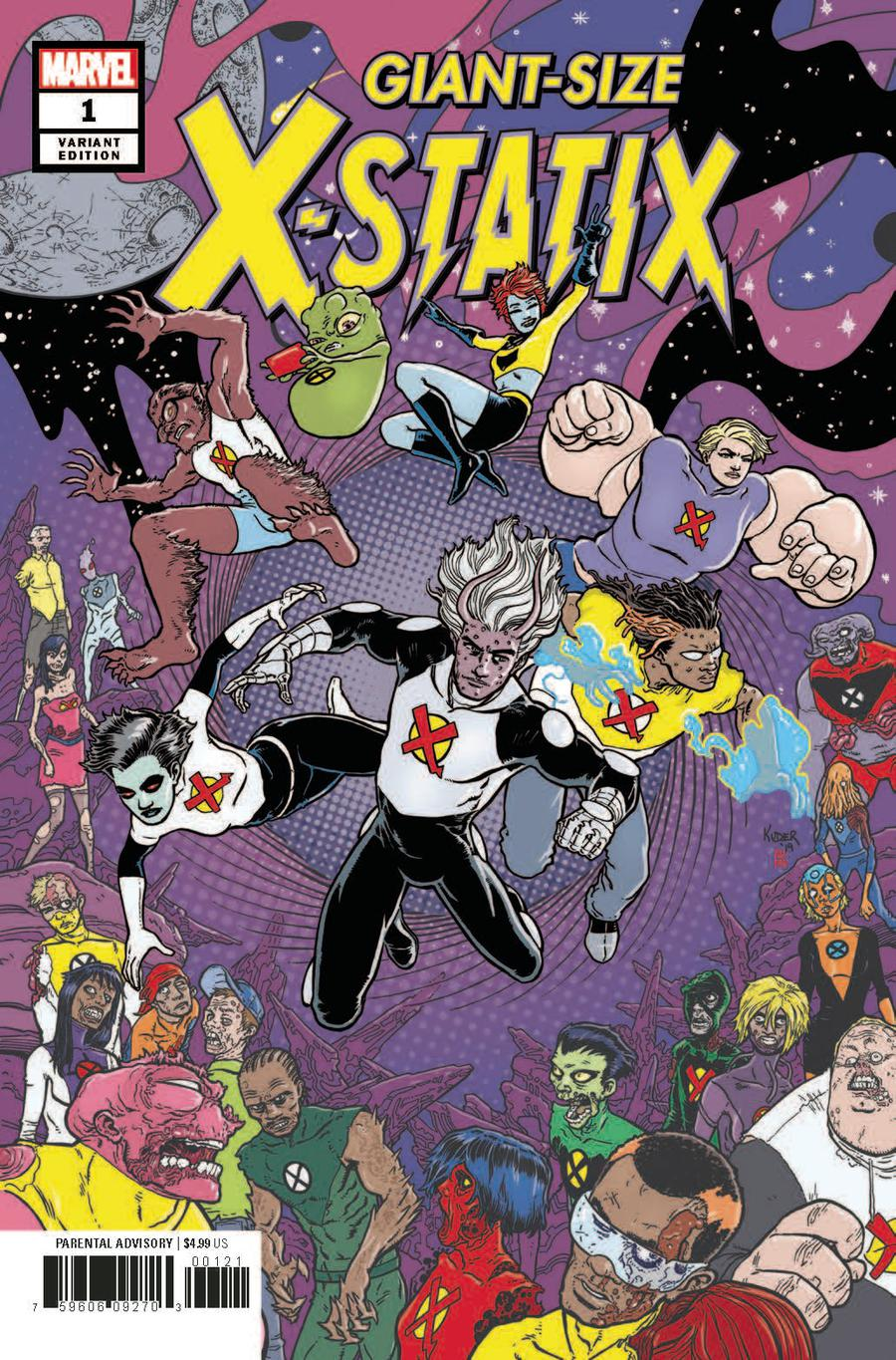 Giant-Size X-Statix #1 Cover B Variant Aaron Kuder Cover