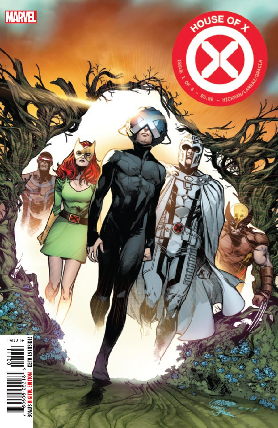 House Of X #1 Cover A 1st Ptg Regular Pepe Larraz Cover