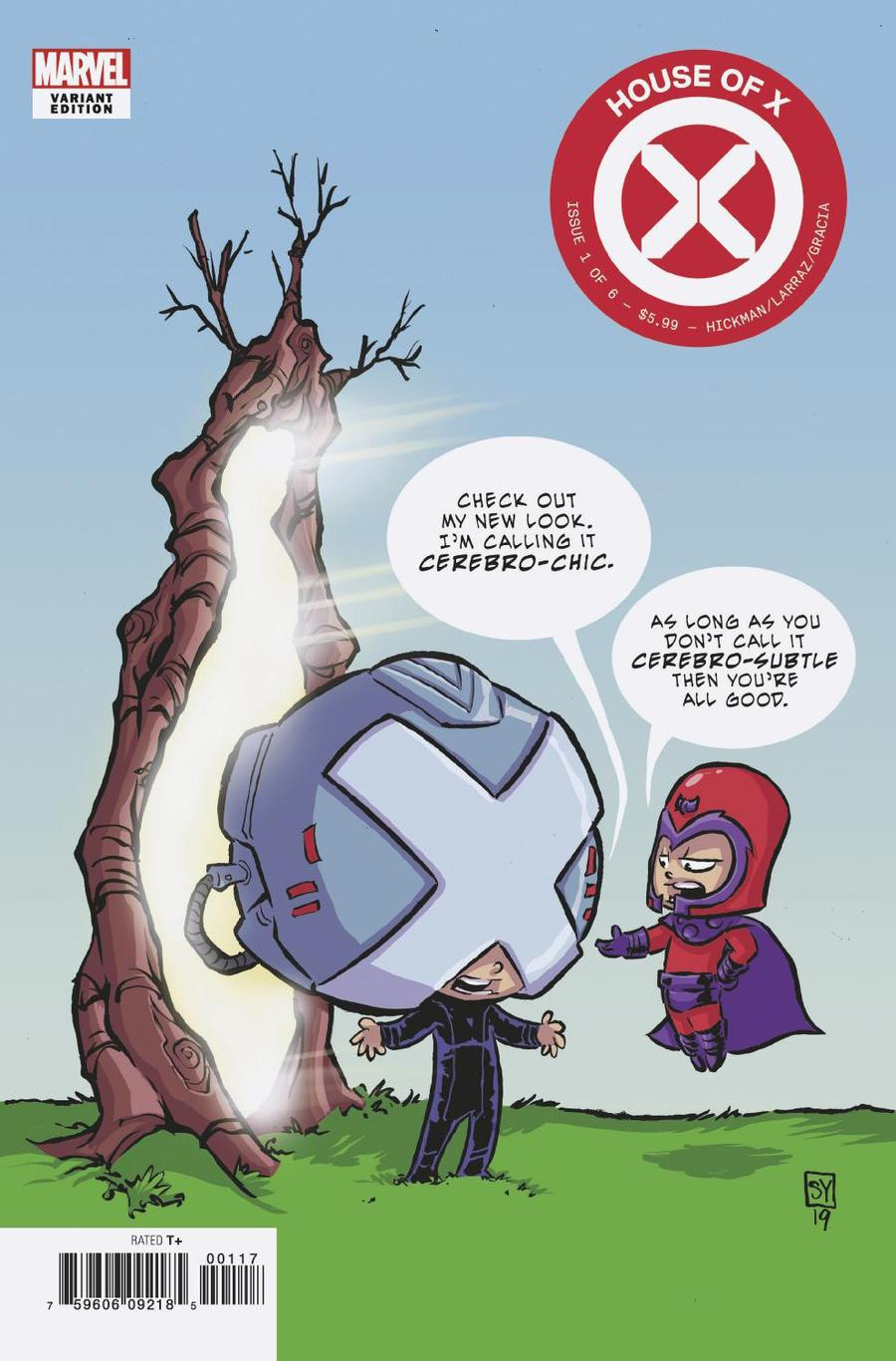 House Of X #1 Cover F Variant Skottie Young Cover
