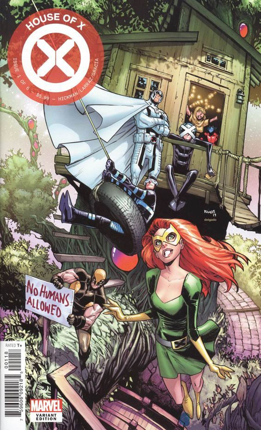 House Of X #1 Cover G Variant Humberto Ramos Party Cover