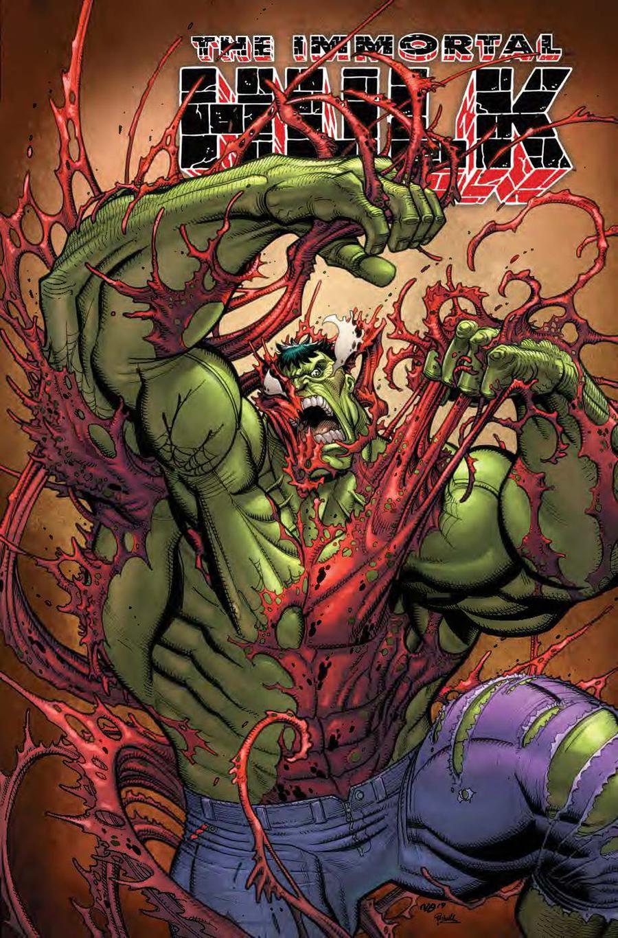 Immortal Hulk #20 Cover B Variant Nick Bradshaw Carnage-Ized Cover