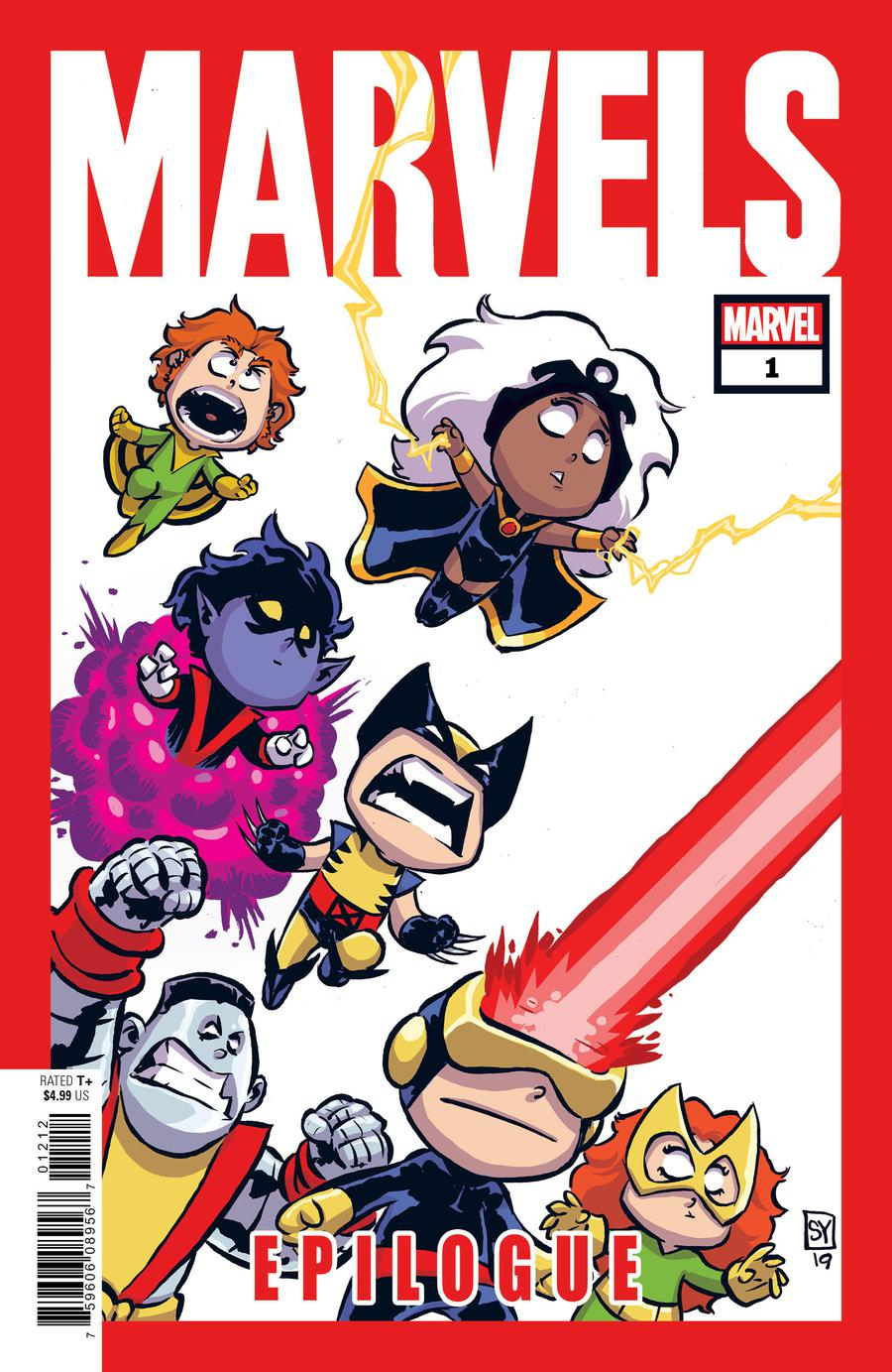 Marvels Epilogue #1 Cover C Variant Skottie Young Cover