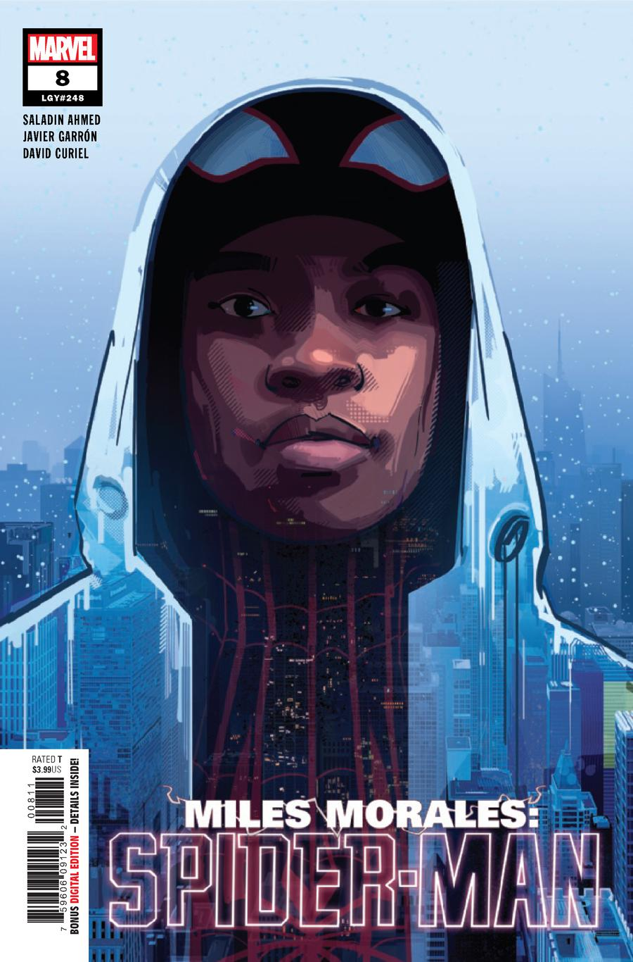 Miles Morales Spider-Man #8 Cover A 1st Ptg