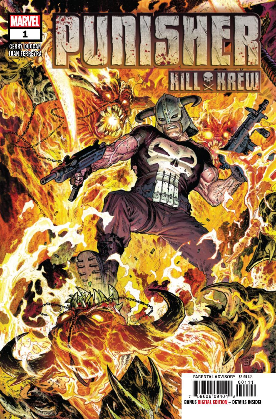 Punisher Kill Krew #1 Cover A 1st Ptg Regular Tony Moore Cover