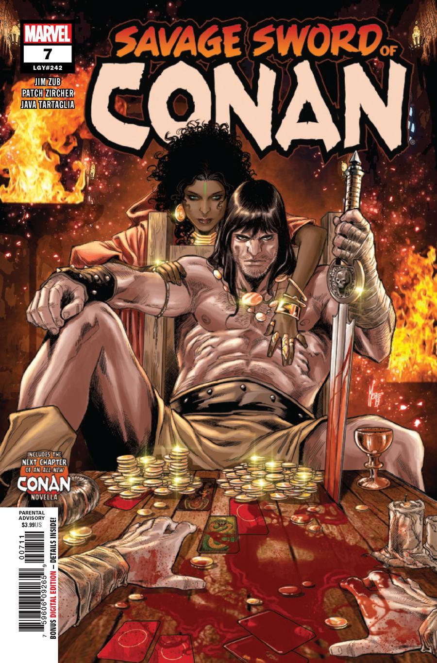 Savage Sword Of Conan #7 Cover A Regular Marco Checchetto Cover