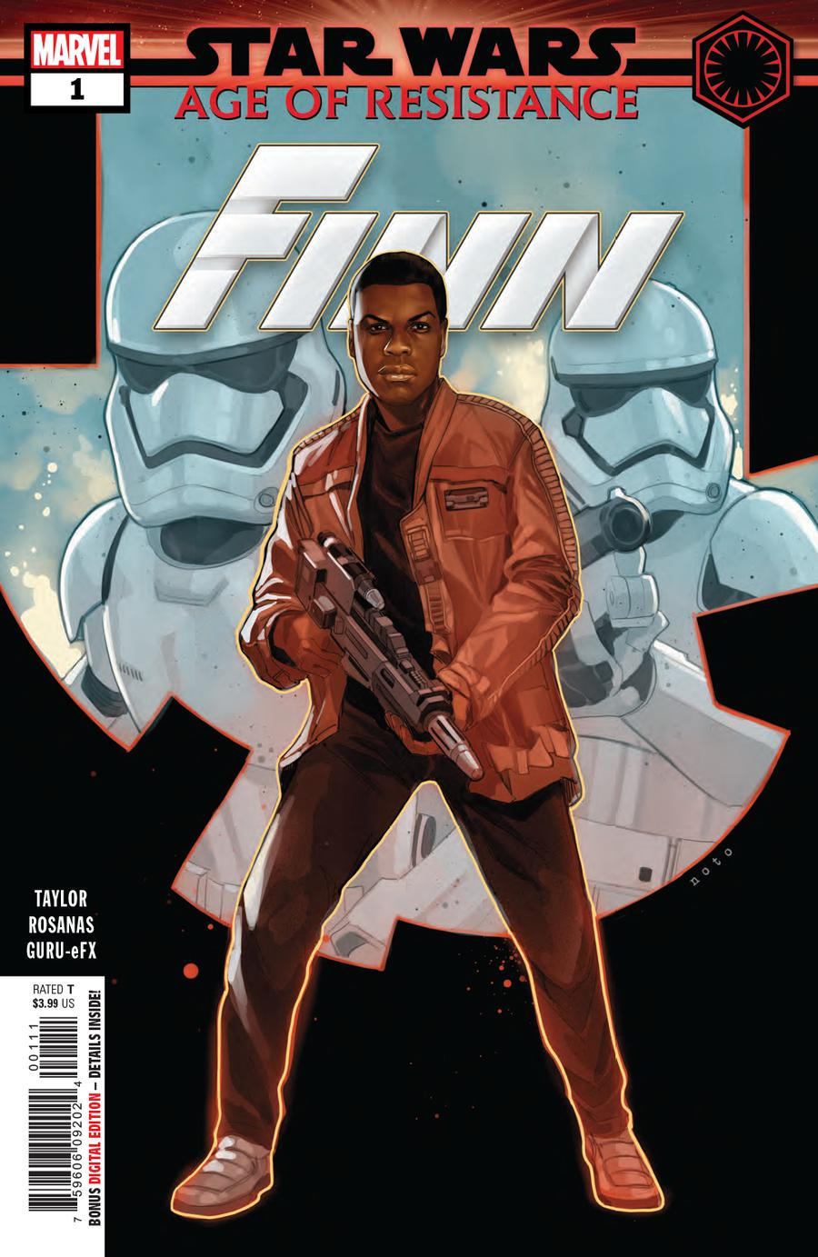 Star Wars Age Of Resistance Finn #1 Cover A Regular Phil Noto Cover