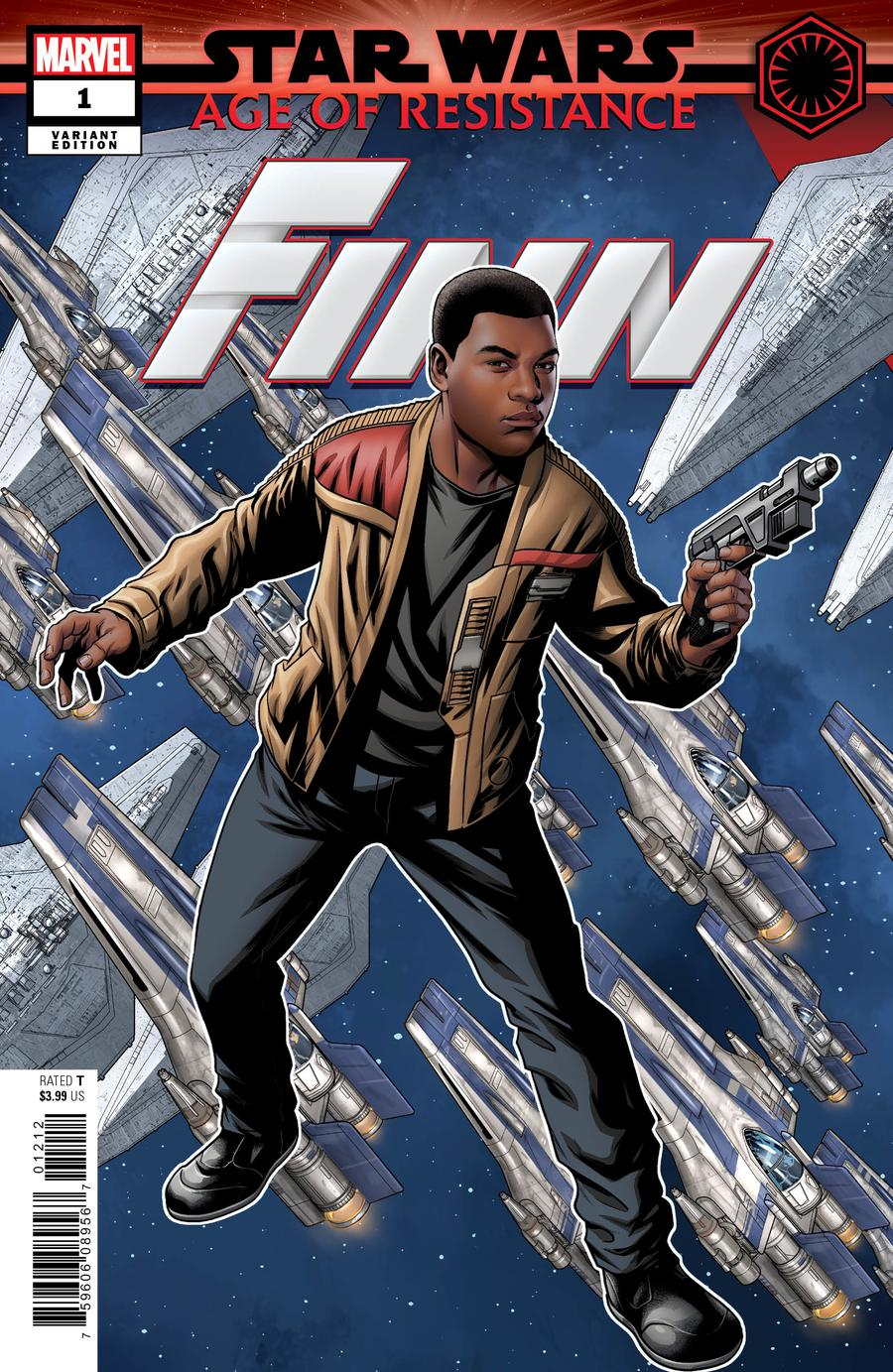 Star Wars Age Of Resistance Finn #1 Cover C Variant Mike McKone Puzzle Piece Cover