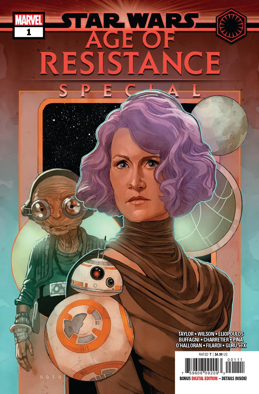 Star Wars Age Of Resistance Special #1 Cover A Regular Phil Noto Cover