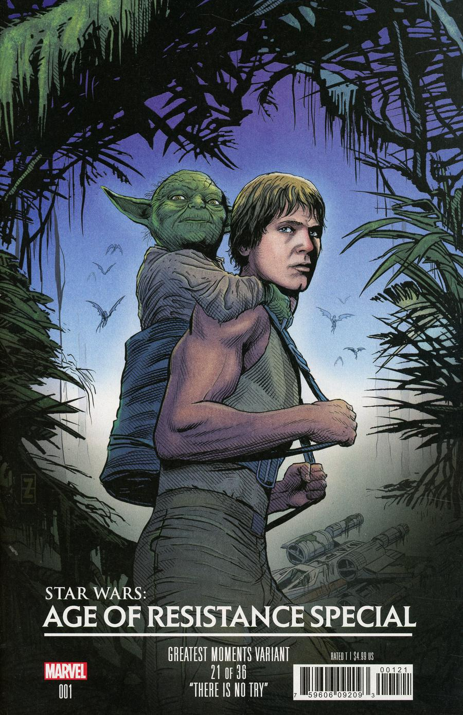Star Wars Age Of Resistance Special #1 Cover B Variant Patrick Zircher Greatest Moments Cover
