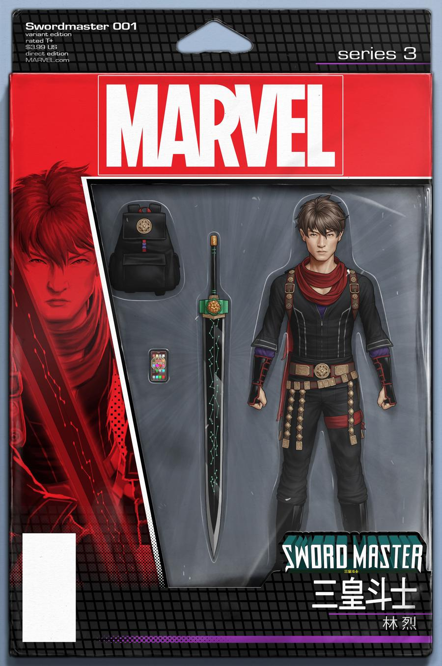 Sword Master #1 Cover B Variant John Tyler Christopher Action Figure Cover