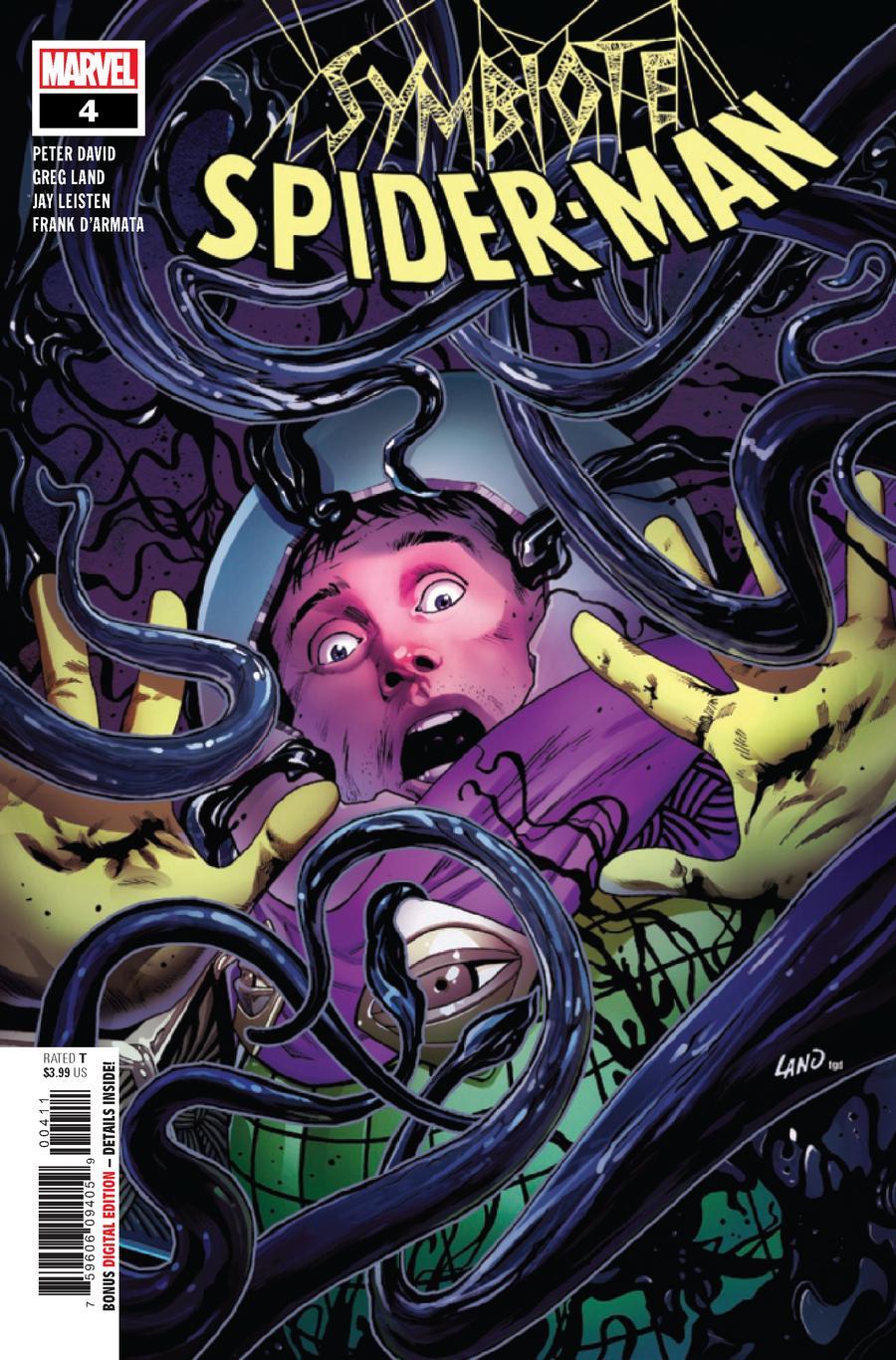 Symbiote Spider-Man #4 Cover A 1st Ptg Regular Greg Land Cover
