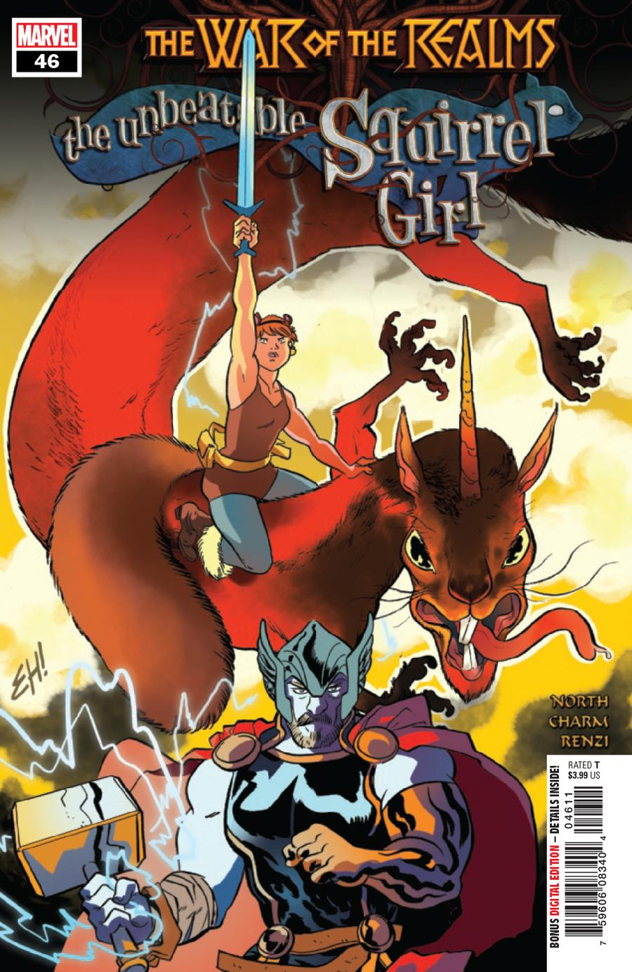 Unbeatable Squirrel Girl Vol 2 #46 (War Of The Realms Tie-In)