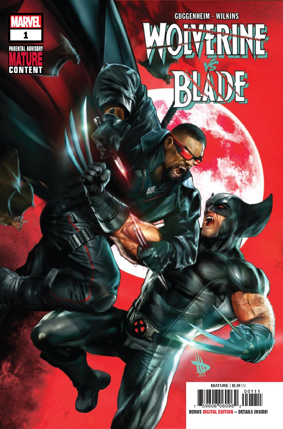 Wolverine vs Blade Special #1 Cover A 1st Ptg Regular Cover