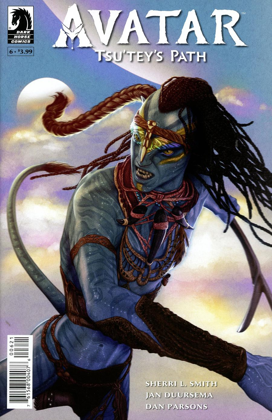 Avatar Tsuteys Path #6 Cover B Variant Shea Standefer Cover