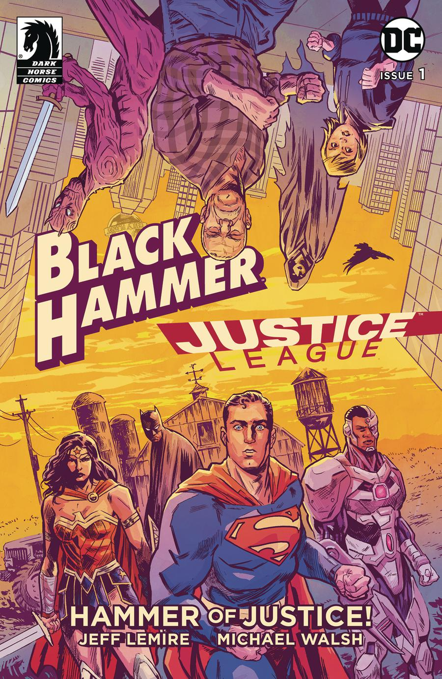 Black Hammer Justice League Hammer Of Justice #1 Cover A Regular Michael Walsh Cover