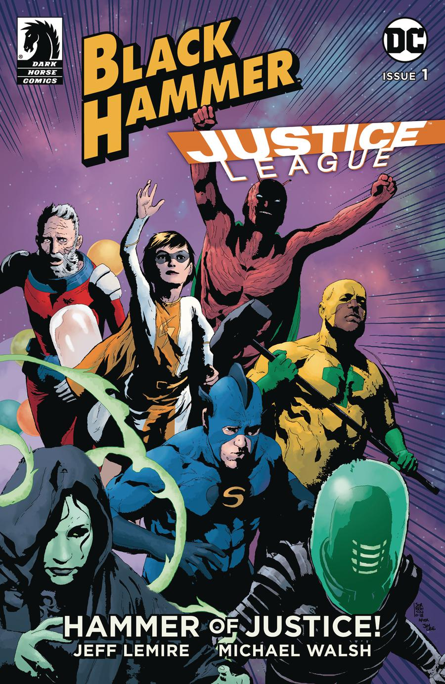 Black Hammer Justice League Hammer Of Justice #1 Cover B Variant Andrea Sorrentino Cover
